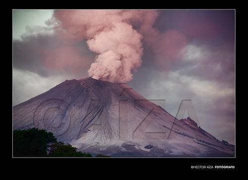 Fumarola Volcán Popocatépetl 21 De Mayo 2012
