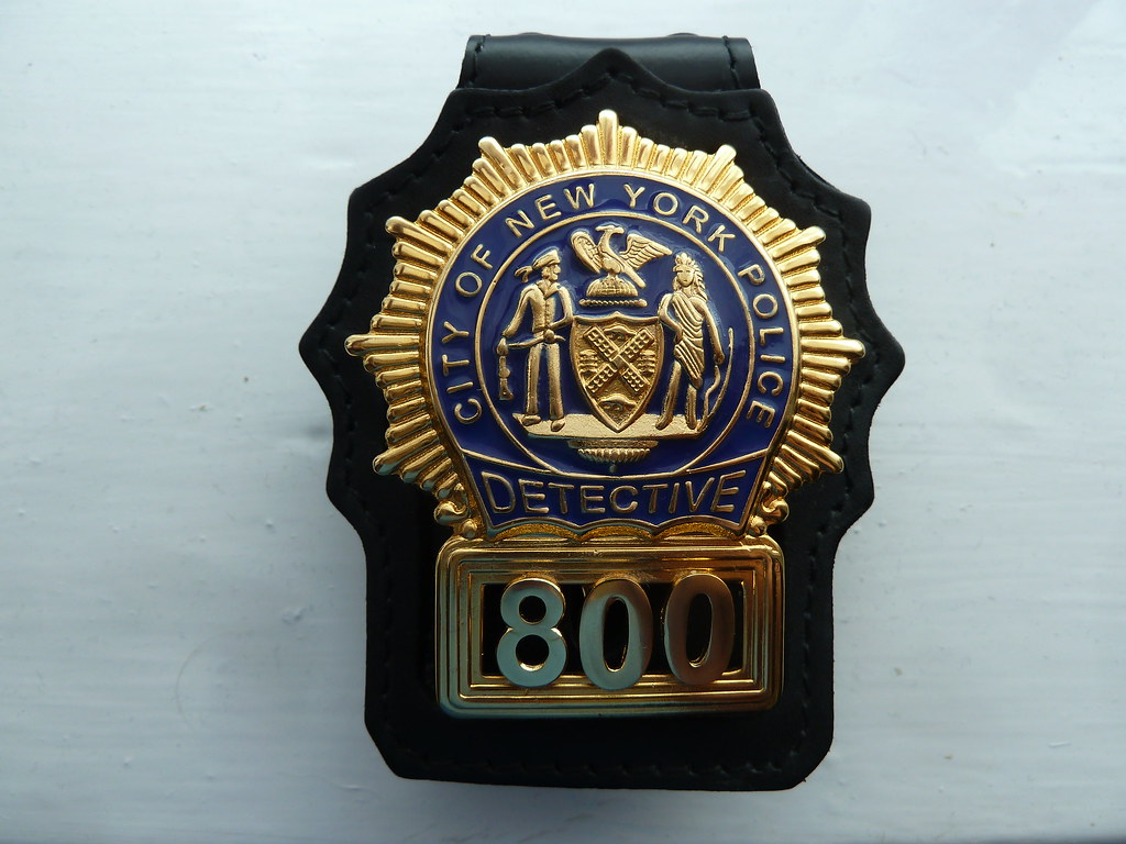 NYPD Detective Shield Update   I managed to receive the hold