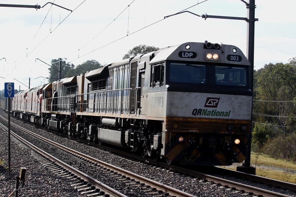 5 locos, 1 train by Benjamin Murch
