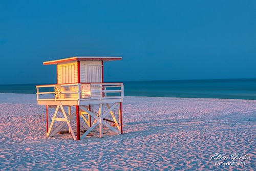 ocean trip blue sunset vacation house beach landscape sand unitedstates florida empty lifeguard scene hour after lonely fl bluehour destin fla flordia beachouse vacatin ellenyeates ellenyeatesphotography