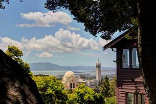 Scenes from UC Berkeley - Views of Panoramic Way | by John-Morgan