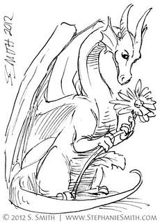 Doodleswap #12 Tiny Dragon #5 | by artsteph6