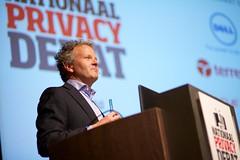 Bart de Koning bij het Nationaal Privacy Debat