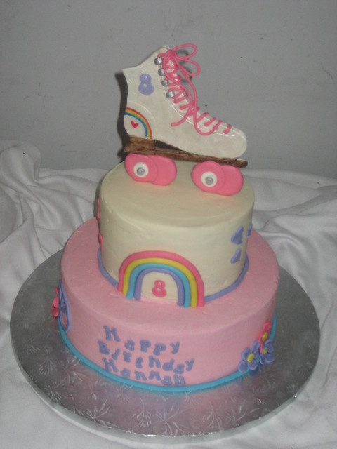 Roller Skate Cake