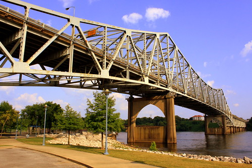 O'Neal Bridge - The Shoals, AL (Close-up View)