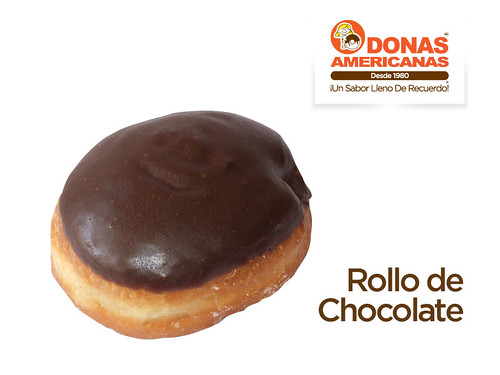 Rollo de Chocolate | by donas_americanas