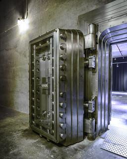 Bank of Canada Vault door