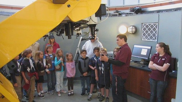 MVI_4650 westmont college observatory telescope show to kids