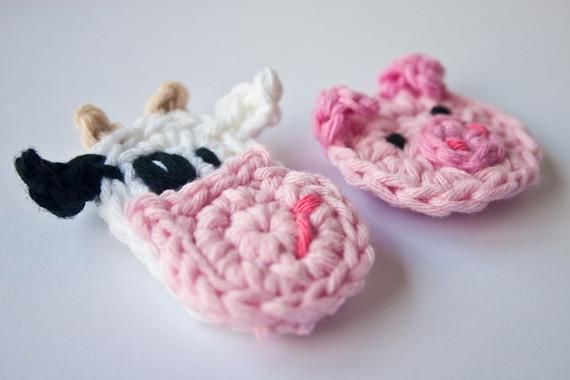 Crochet applique animals suppliers best crochet applique animals