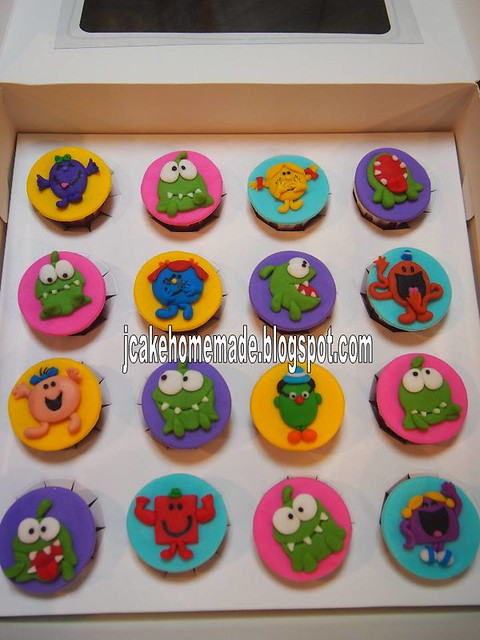 Cut the rope & Little men and Little miss cupcake