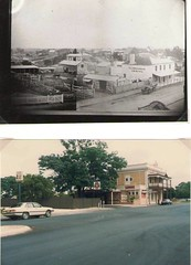 Cowan Street above c1870  below 1989