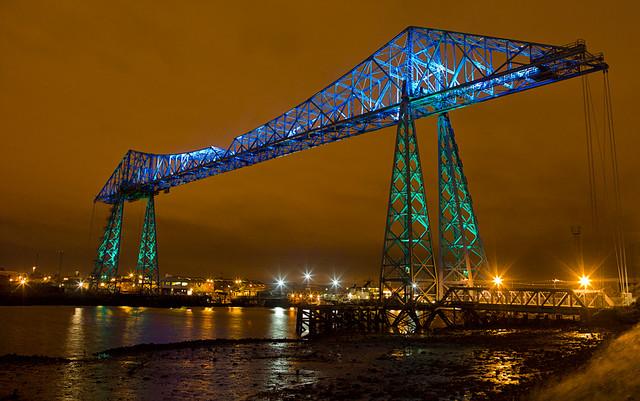 Middlesbrough 2011 - Transporter Bridge - 01 web