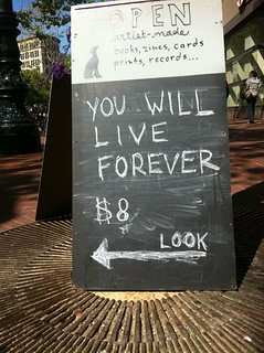 You will live forever. | by {Guerrilla Futures | Jason Tester}