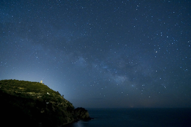 Milky Way - Playa De Maro, Nerja, Spain
