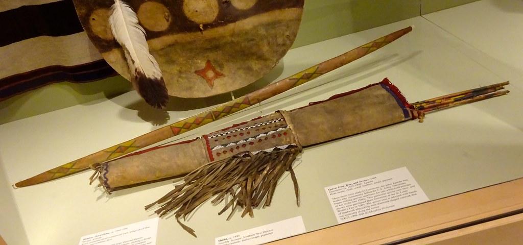 Quiver Case, Bow, Arrows | Artist Geronimo, Apache, ca  1825