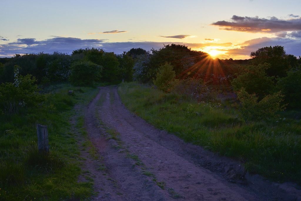 North Common Sunset, Pelsall 29/05/2015