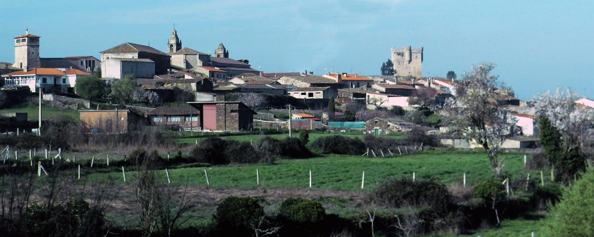 vista Municipio San Felices de los Gallegos Salamanca