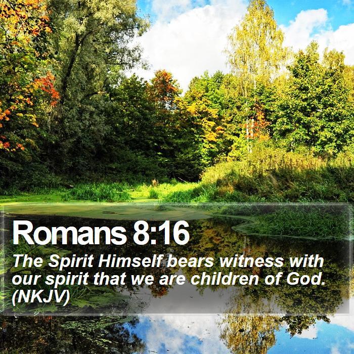 Daily Bible Verse - Romans 8:16 | Romans 8:16 The Spirit Him… | Flickr