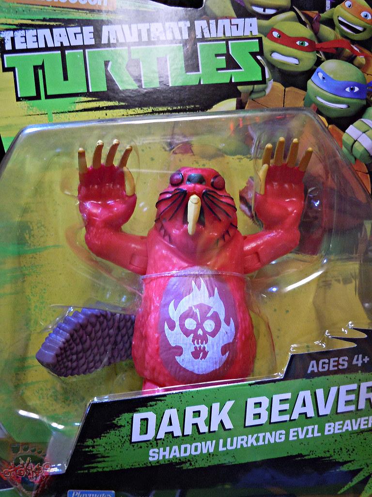 nickelodeon teenage mutant ninja turtles dark beaver complete