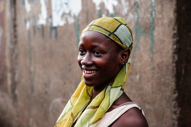 Celina Kamanda - an Ebola survivor helped by UK aid