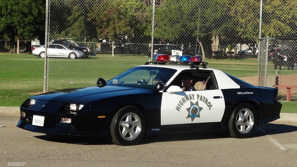 California Highway Patrol - 1992 Chevrolet Camaro RS resto