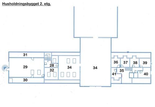 Maza Husholdningsbygget 2 etg