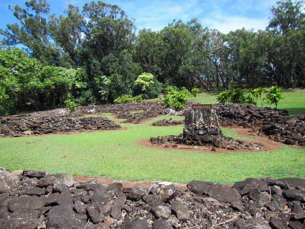 Picture from the Keaiwa Heiau State Park