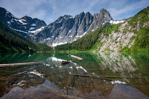 Landslide Lake   by Bryn Tassell