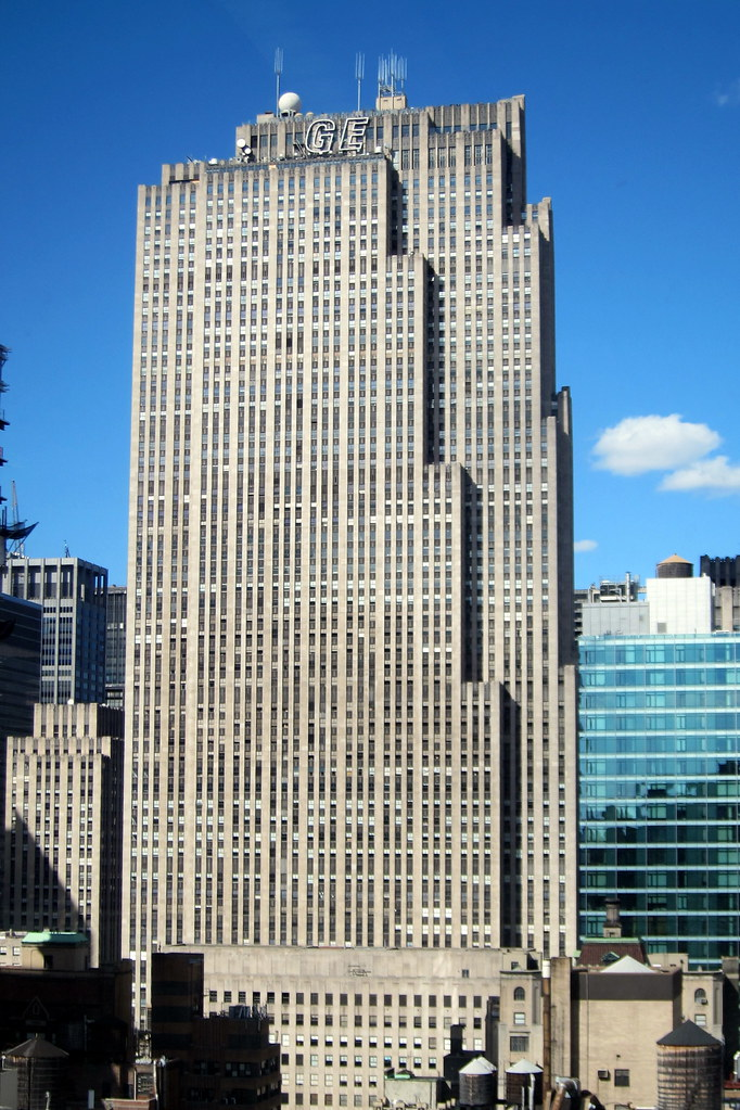 NYC - Rockefeller Center: GE Building | Taken from 522 5th ...