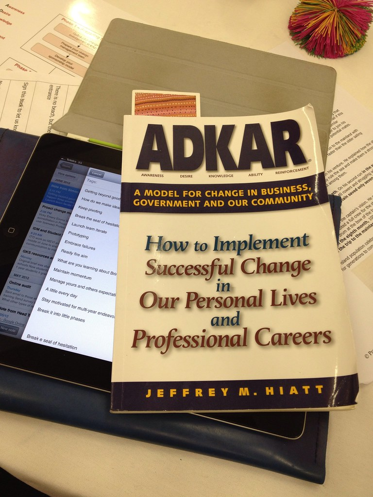 ADKAR Change Management Model | Here on Day one of a 3 day P… | Flickr