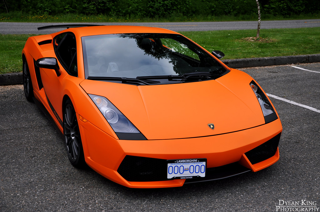Matte Orange Lamborghini Gallardo Superleggera Vancouver C Flickr