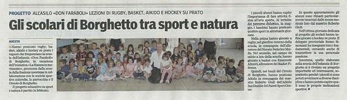 Insieme ai 50 bimbi dell'asilo di Borghetto (PR) - Maggio 2012