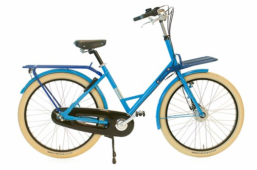 Gr8 Blauwe dragers kaal | by @WorkCycles