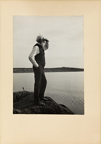 Portrett av Erik Werenskiold, 1930 | by National Library of Norway