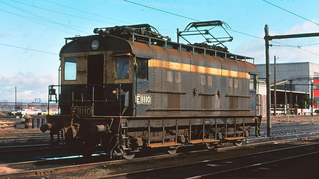 VR_BOX003S02 - E1110 at South Dynon loco depot by michaelgreenhill