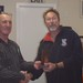 Don Harland receiving Summer Series Trophy for 1st Place