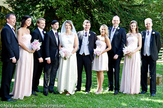With Bridesmaids And Groomsmen | by Nichole_Rowbottom