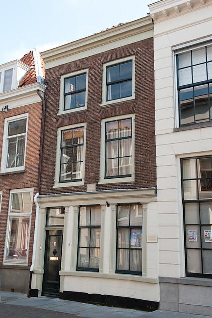 Pand Lange Nieuwstraat waar Quint Ondaatje eind 18e eeuw een kamer had.