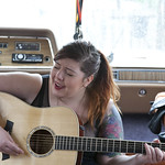 Sat, 15/03/2014 - 12:28pm - Mary Lambert performs 'She Keeps Me Warm' at Hotel San Jose for WFUV. March 15, 2014. Photo by Laura Fedele