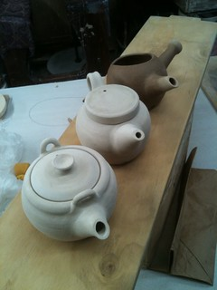 first  3 teapots ever | by CameronSharpPottery