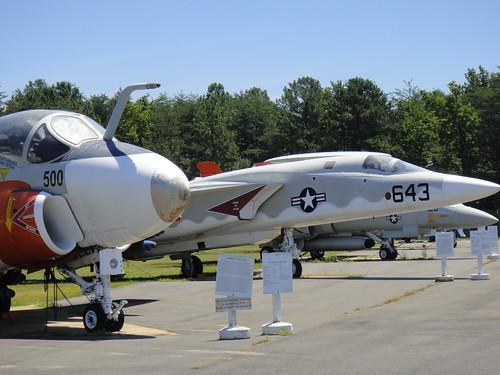 Outside Flightline, Patuxent River Naval Air Museum, Lexington Park