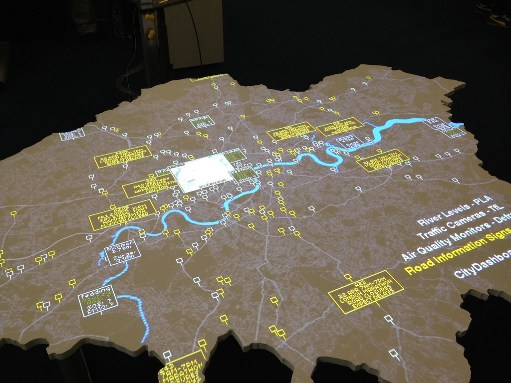 London Data Map