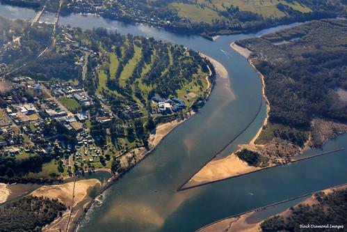 aerialview aerialviews australia nsw aerialphoto aerialphotographs aerialphotos aerialshots urunga bellingerriver aerialimages australianaerialphotographs