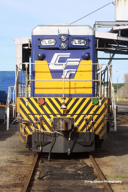 TL154 in the Portland yard by Corey Gibson
