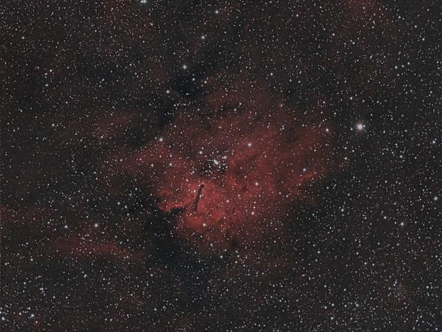NGC 6820 Ha / OIII