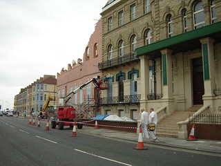 Painting existing buildings