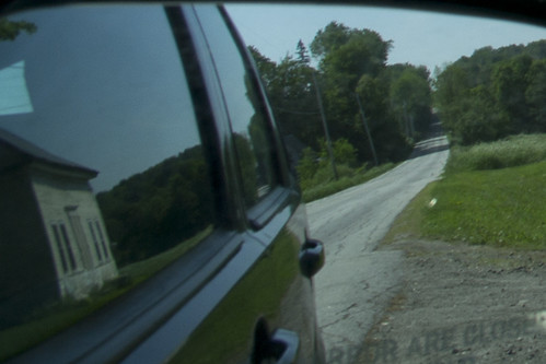 road trees light summer house reflection rural mirror vermont afternoon view farm side wing center brookfield vt