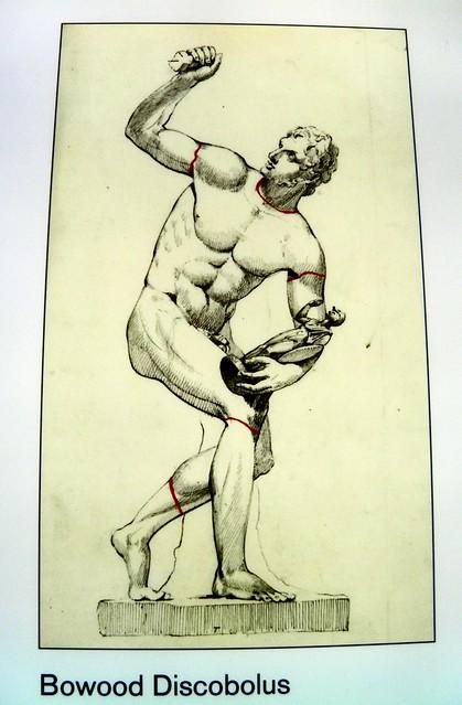 Bowood Discobolus, Winning at the ancient Games, British Museum