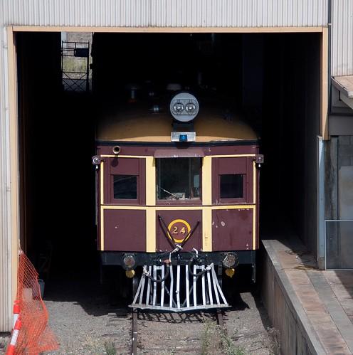 cootamundra tinhare railmotor