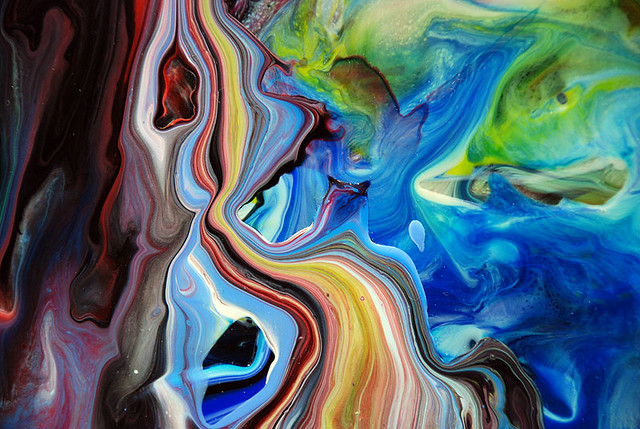 The River Of Paint